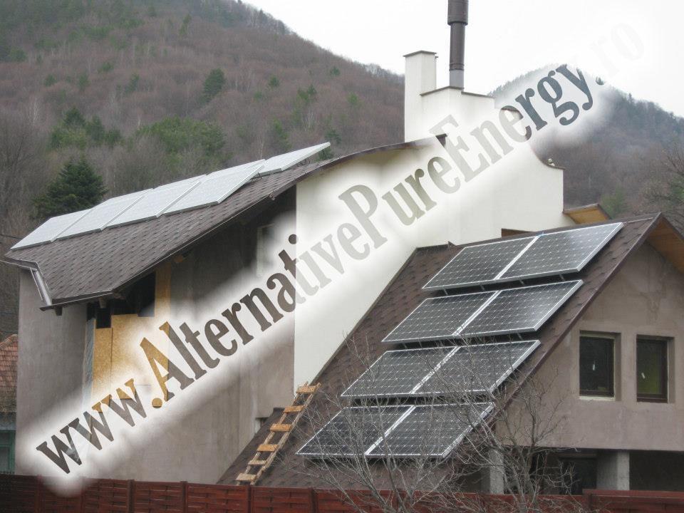 1 Sistem Fotovoltaic On-Grid cu Livrare in Retea