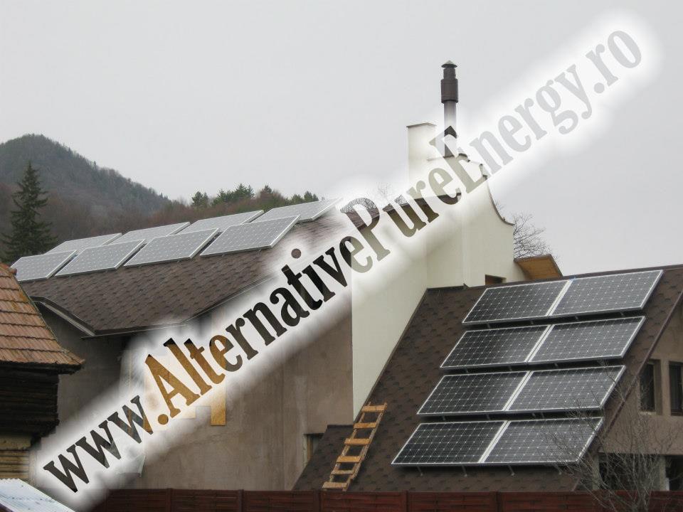 2 Sistem Fotovoltaic On-Grid cu Livrare in Retea
