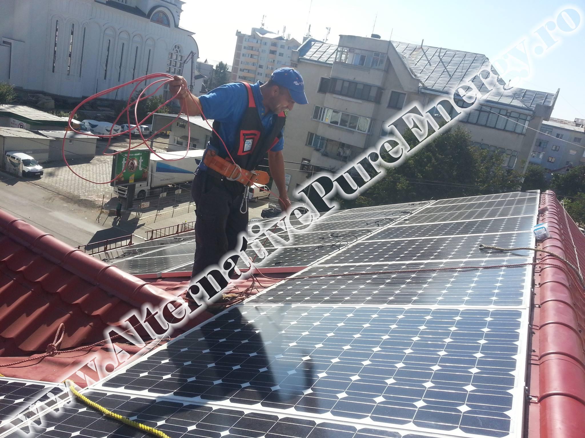 "Sistem Fotovoltaic On-Grid ""Sediu de Birouri""-03"
