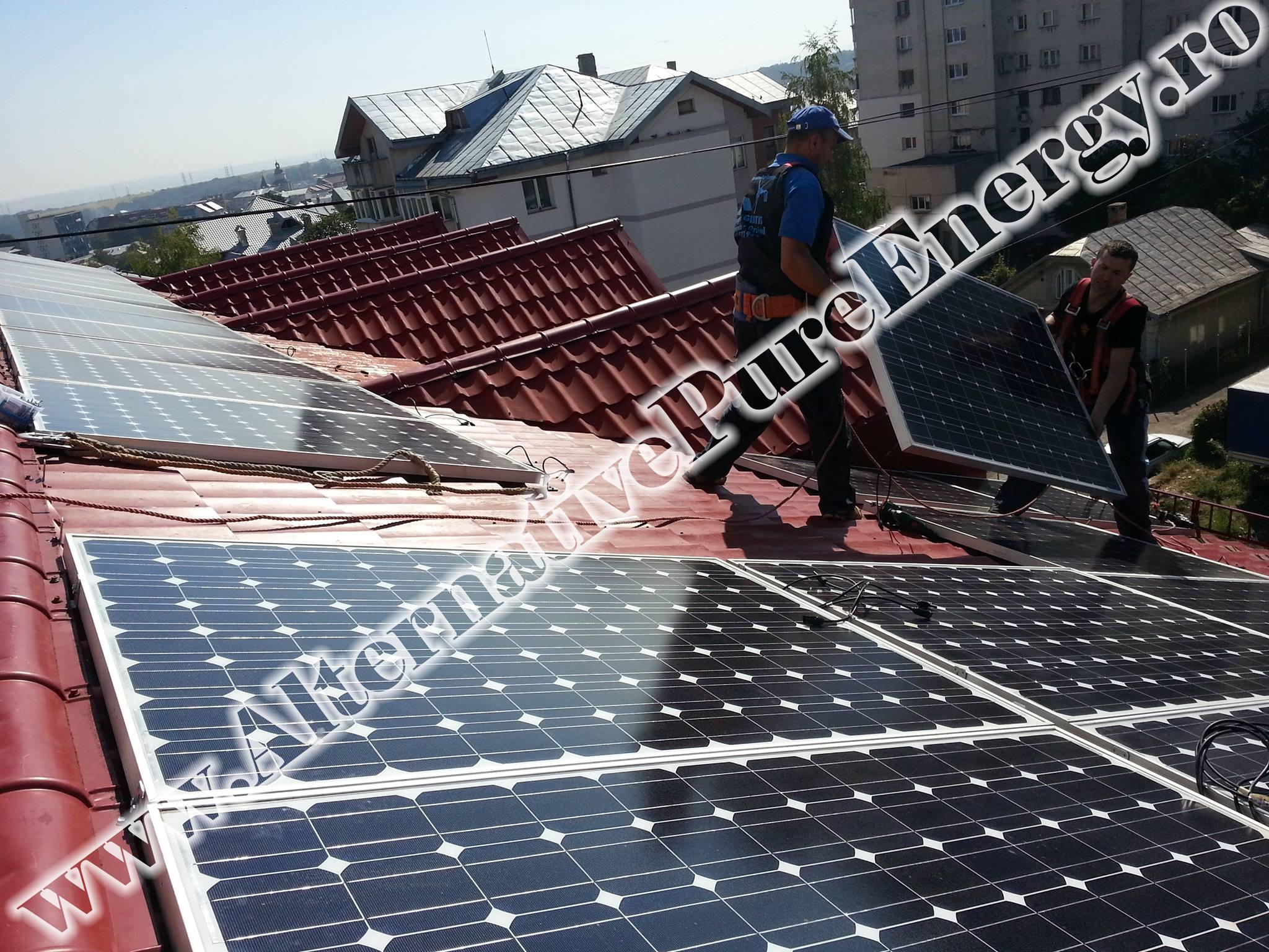 "Sistem Fotovoltaic On-Grid ""Sediu de Birouri""-05"