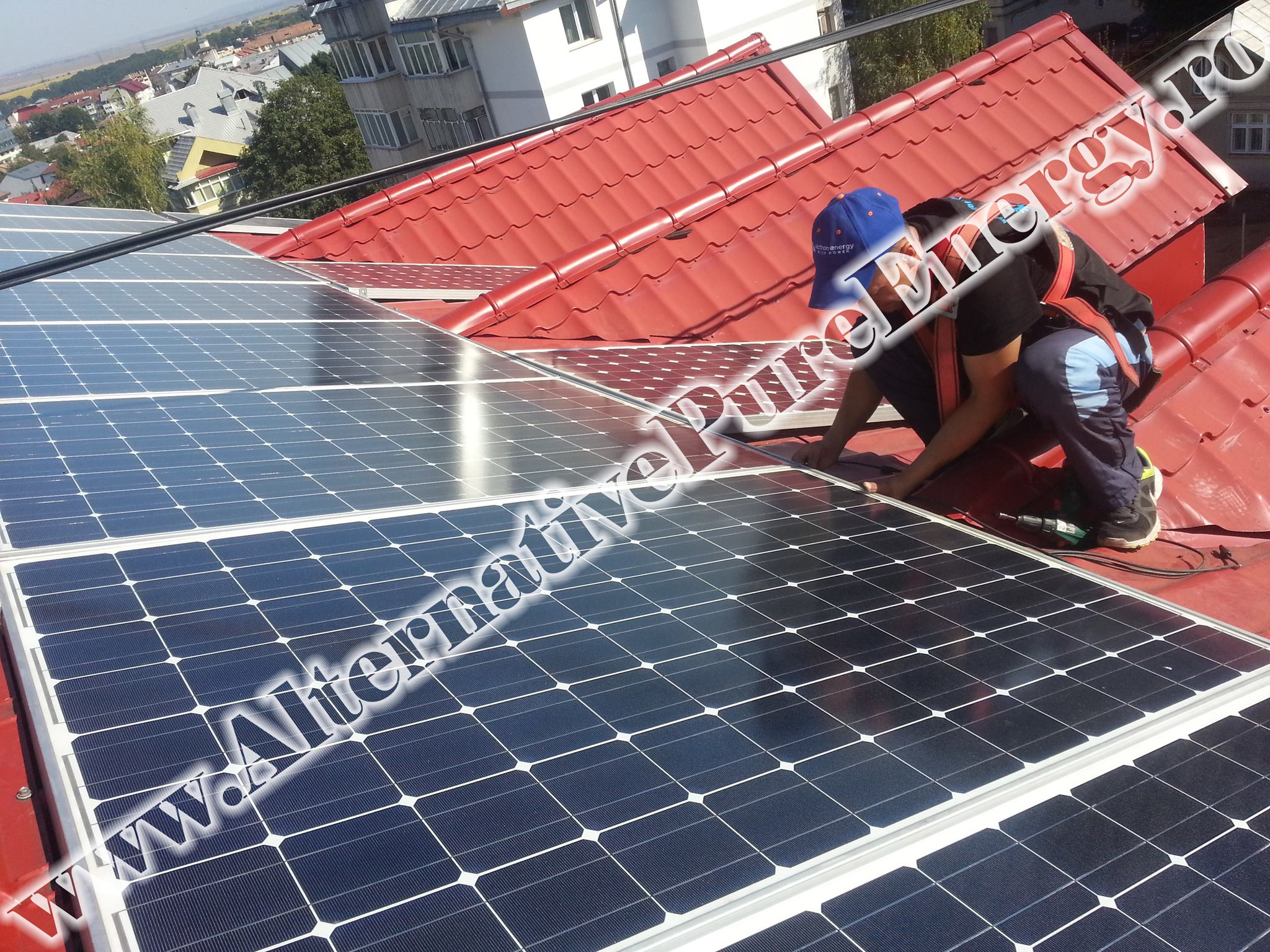 "Sistem Fotovoltaic On-Grid ""Sediu de Birouri""-10"