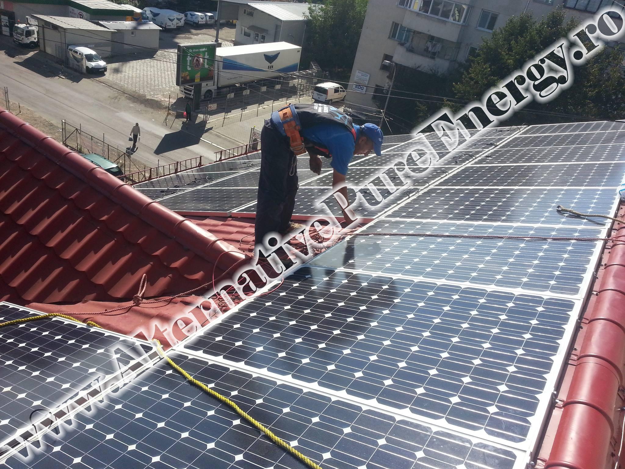 "Sistem Fotovoltaic On-Grid ""Sediu de Birouri""-11"