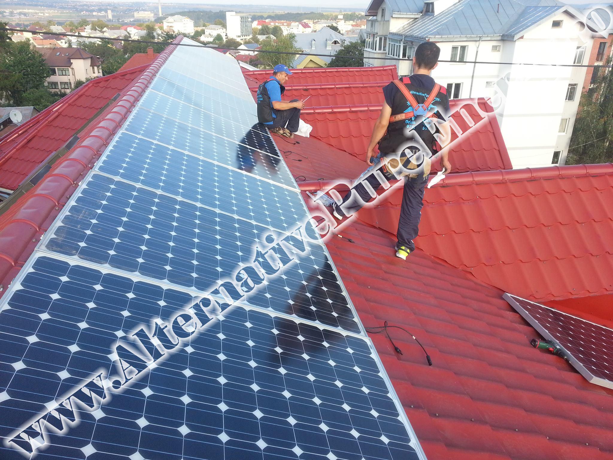 "Sistem Fotovoltaic On-Grid ""Sediu de Birouri""-12"