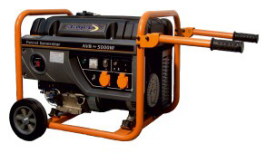 GENERATOR OPEN FRAME BENZINA STAGER GG 6300W - Alternative Pure Energy