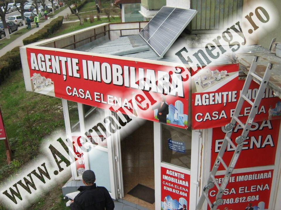 sistem fotovoltaic agentie imobiliara