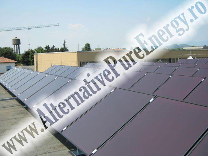 sistem fotovoltaic hala productie