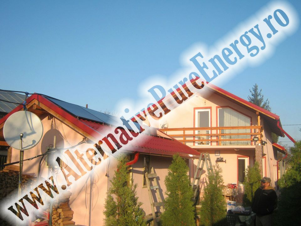 www.AlternativePureEnergy.ro Sistem Fotovoltaic Casa Rezidentiala Bacau 1
