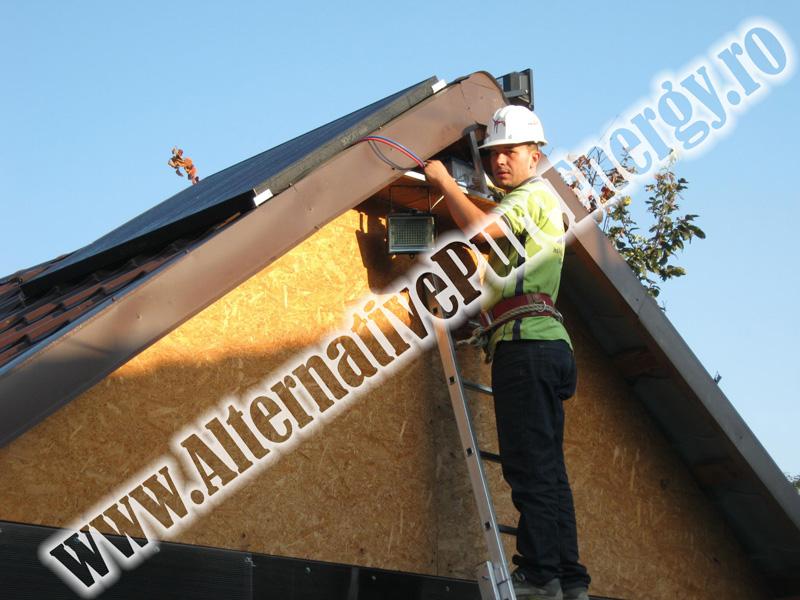 Sistem Fotovoltaic Iluminat Stradal, Garaj si Sistem de Alarma, poza 1 din 3
