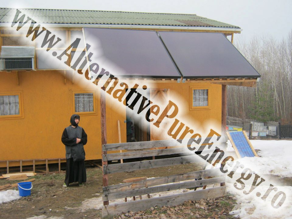 www.AlternativePureEnergy.ro Sistem Fotovoltaic  Manastire Chilie 1