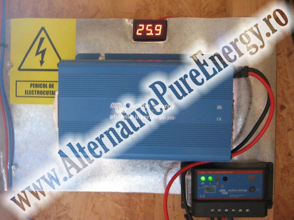 www.AlternativePureEnergy.ro Sistem Fotovoltaic  Manastire Chilie 4
