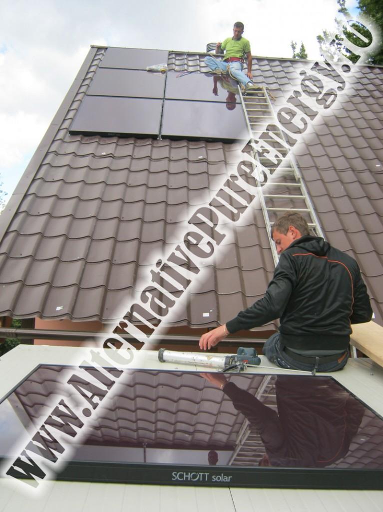 Instalare Sistem Off-Grid Panouri Fotovoltaice, poza 2 din 3