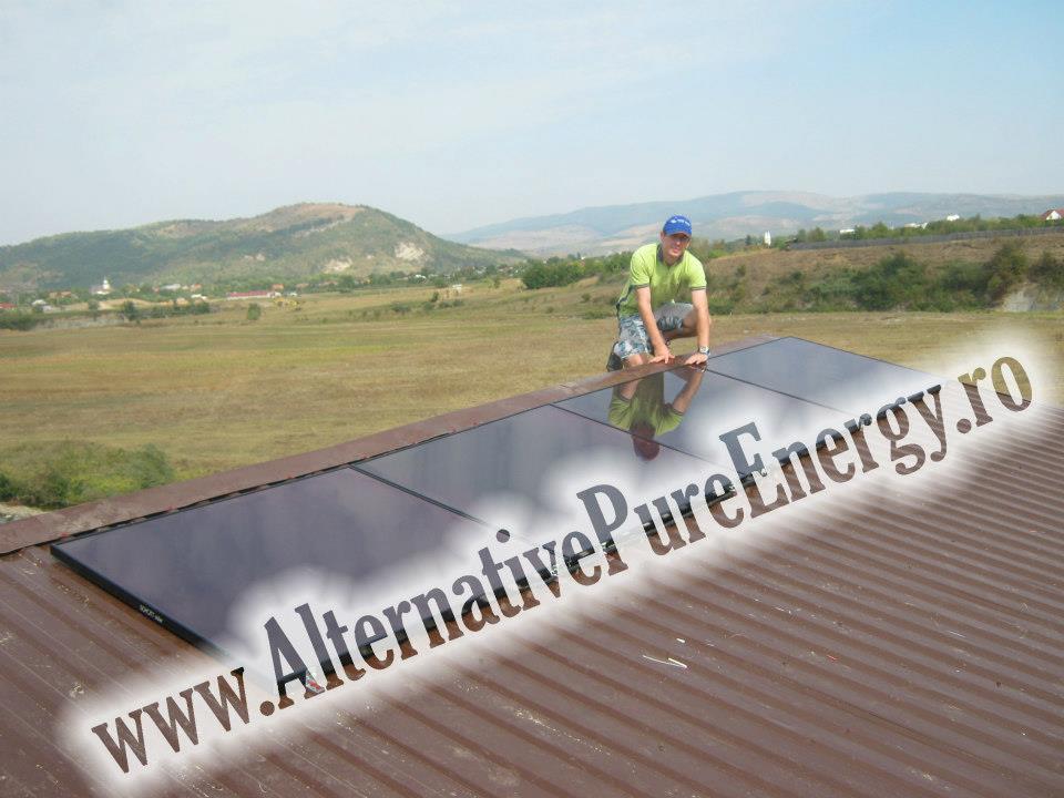 instalare Sistem fotovoltaic la un Service & Dezmembrari Auto, poza 1 din 3