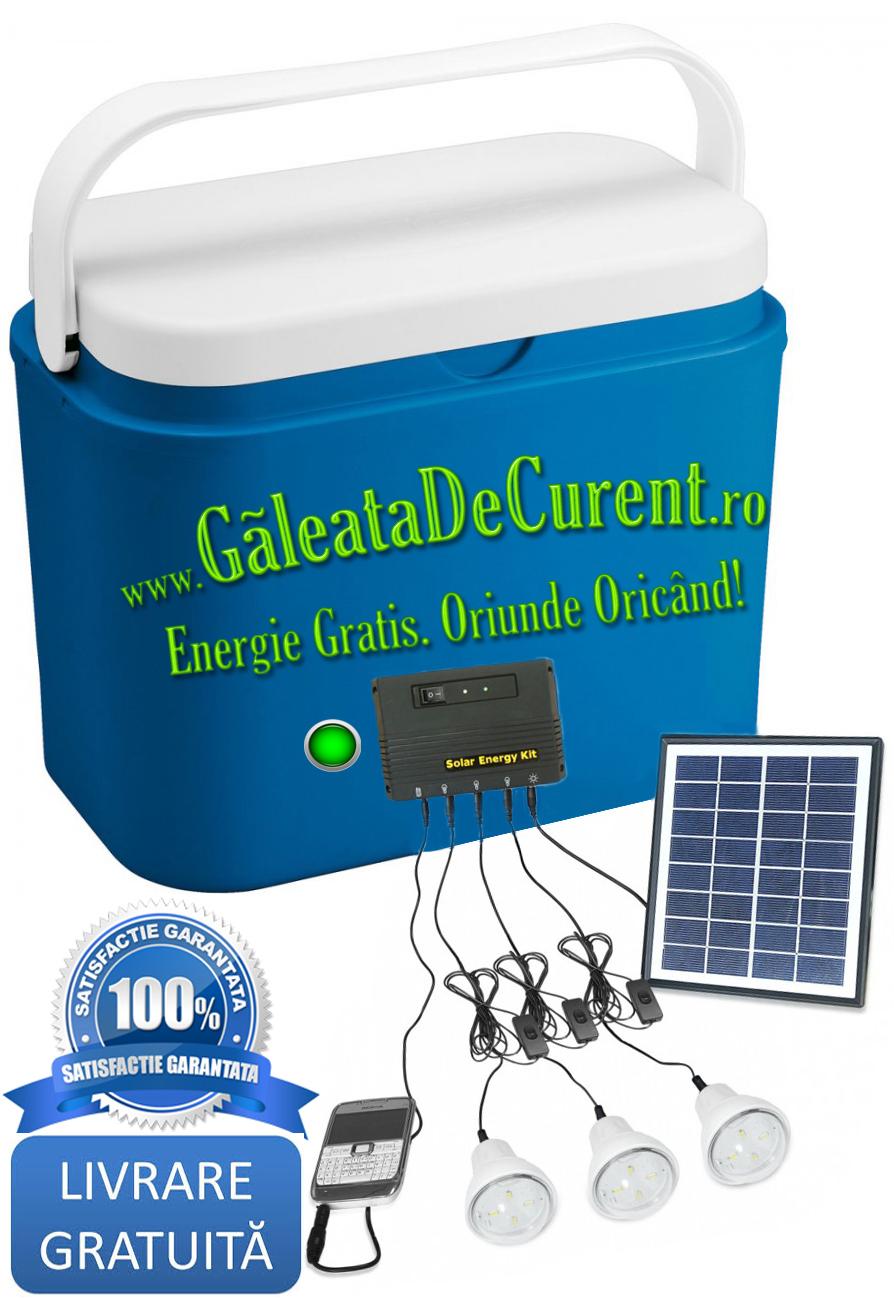 Galeata de curent plus+ energie gratis oriunde oricand