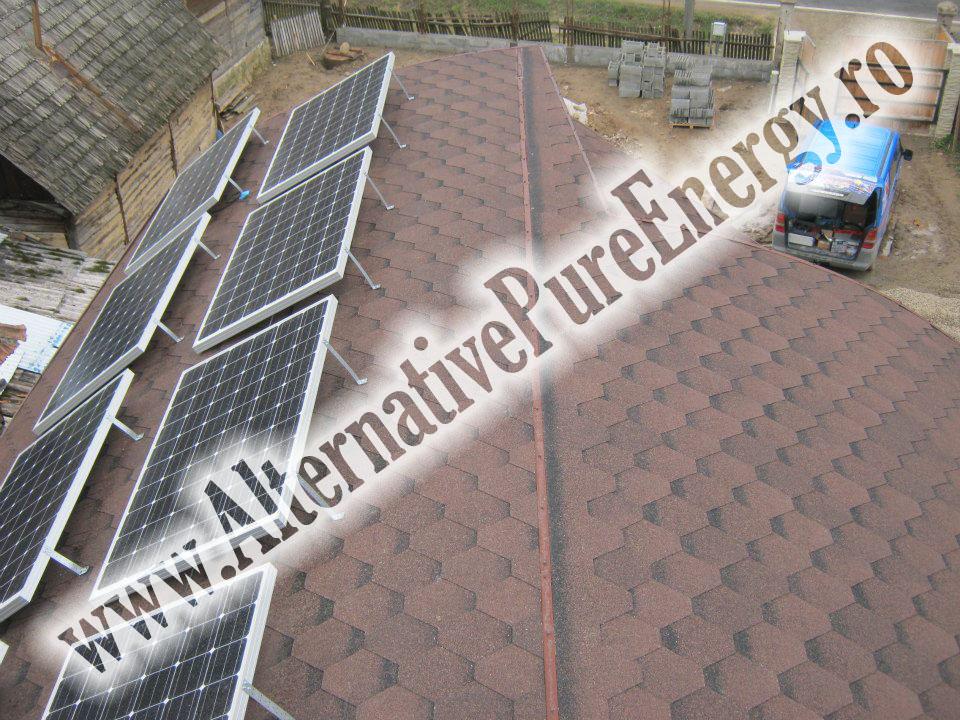 6 Sistem Fotovoltaic On-Grid cu Livrare in Retea