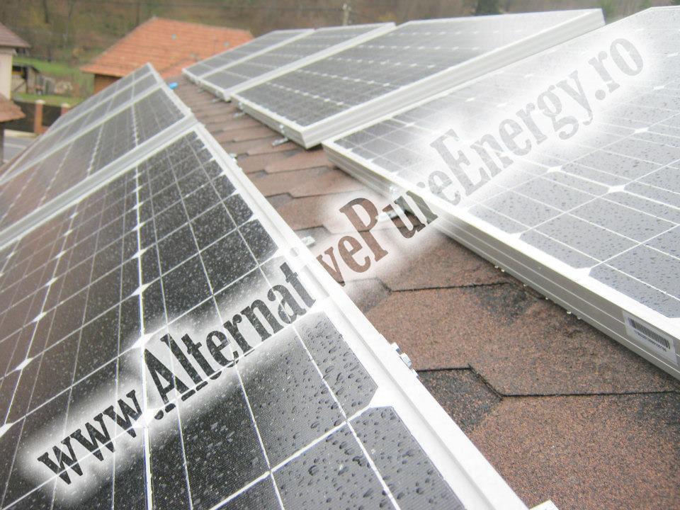 8 Sistem Fotovoltaic On-Grid cu Livrare in Retea