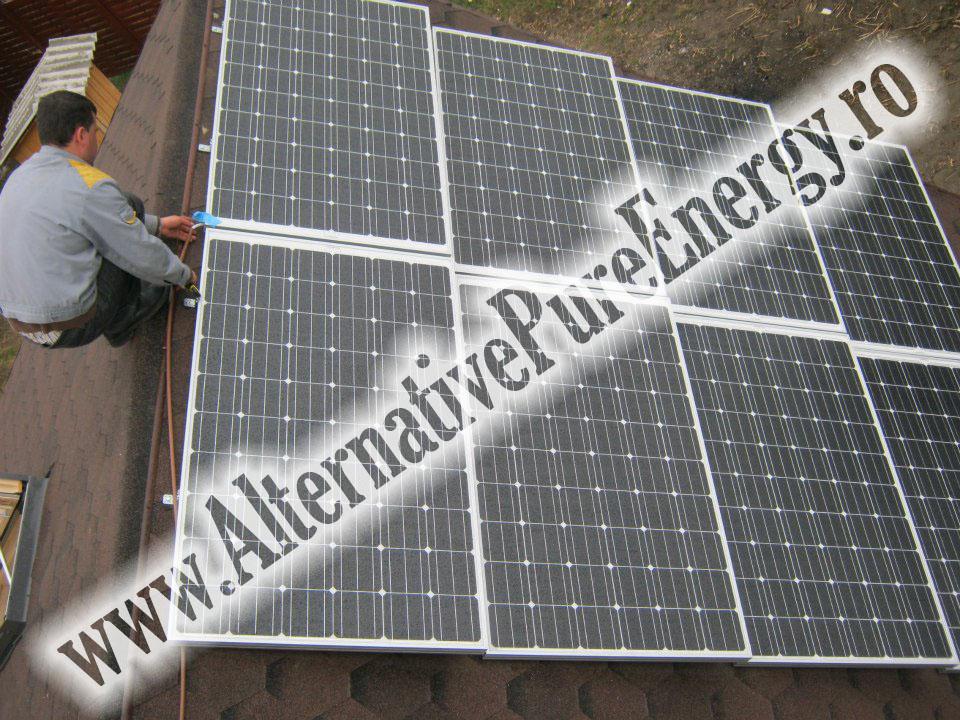 9 Sistem Fotovoltaic On-Grid cu Livrare in Retea