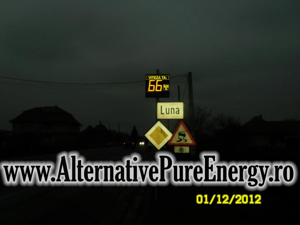 Indicator Rutier Intrare Localitate Radar 10 www.AlternativePureEnergy.ro