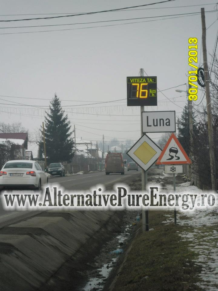 Indicator Rutier Intrare Localitate Radar 2 www.AlternativePureEnergy.ro