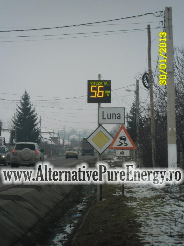 Indicator Rutier Intrare Localitate Radar 4 www.AlternativePureEnergy.ro