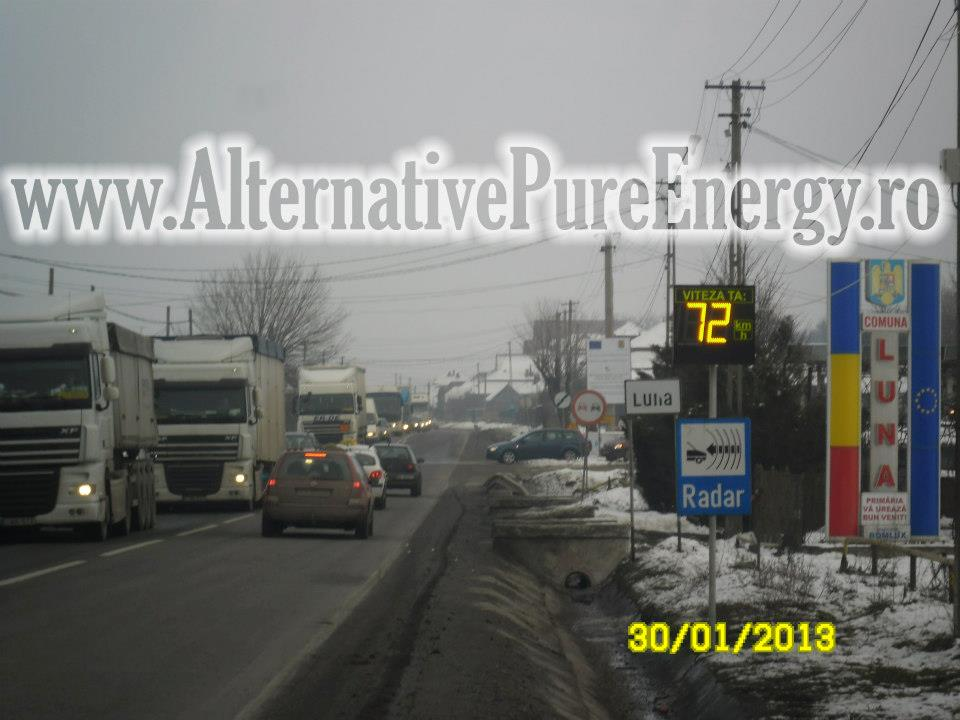 Indicator Rutier Intrare Localitate Radar 6 www.AlternativePureEnergy.ro