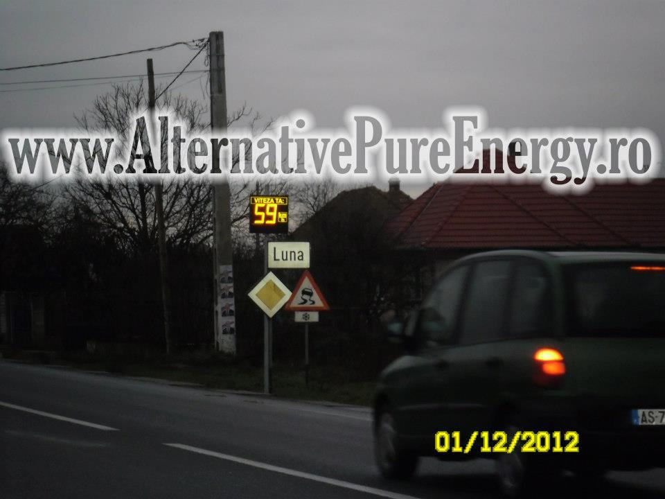 Indicator Rutier Intrare Localitate Radar 8 www.AlternativePureEnergy.ro