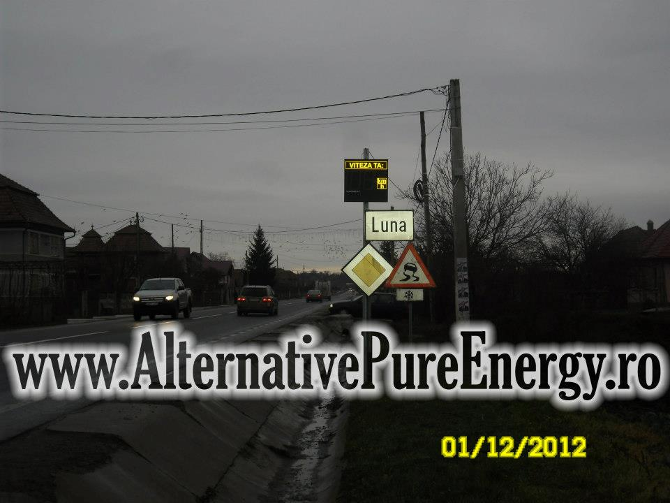 Indicator Rutier Intrare Localitate Radar 9 www.AlternativePureEnergy.ro