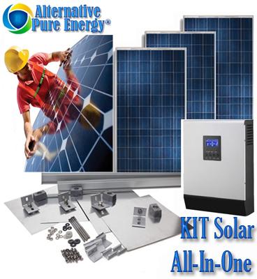 Kit Solar All-In-One www.AlternativePureEnergy.ro