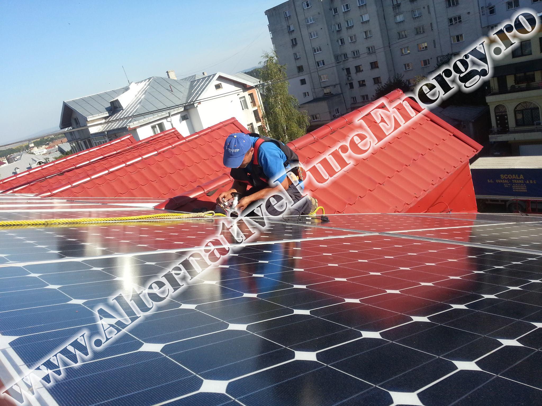 "Sistem Fotovoltaic On-Grid ""Sediu de Birouri""-02"