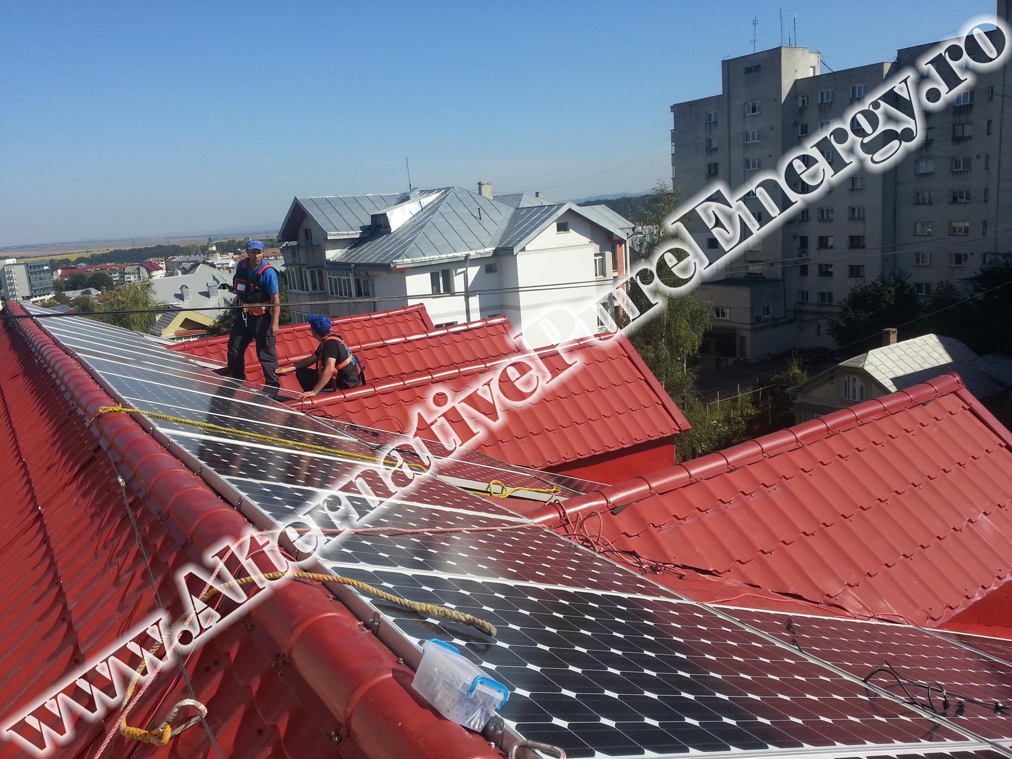 "Sistem Fotovoltaic On-Grid ""Sediu de Birouri""-09"