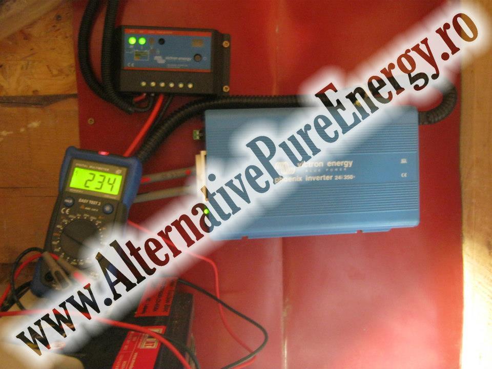 instalare sistem fotovolaic la o casa rezidentiala, poza 1 din 3