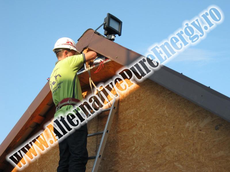Sistem Fotovoltaic Iluminat Stradal, Garaj si Sistem de Alarma, poza 2 din 3