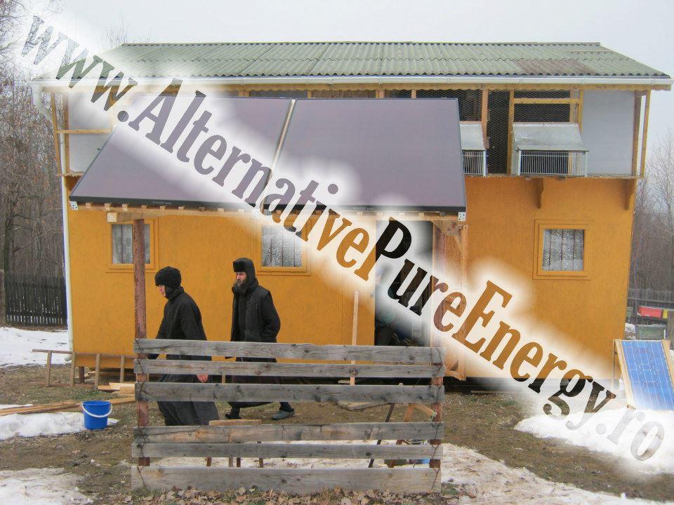 www.AlternativePureEnergy.ro Sistem Fotovoltaic  Manastire Chilie 2