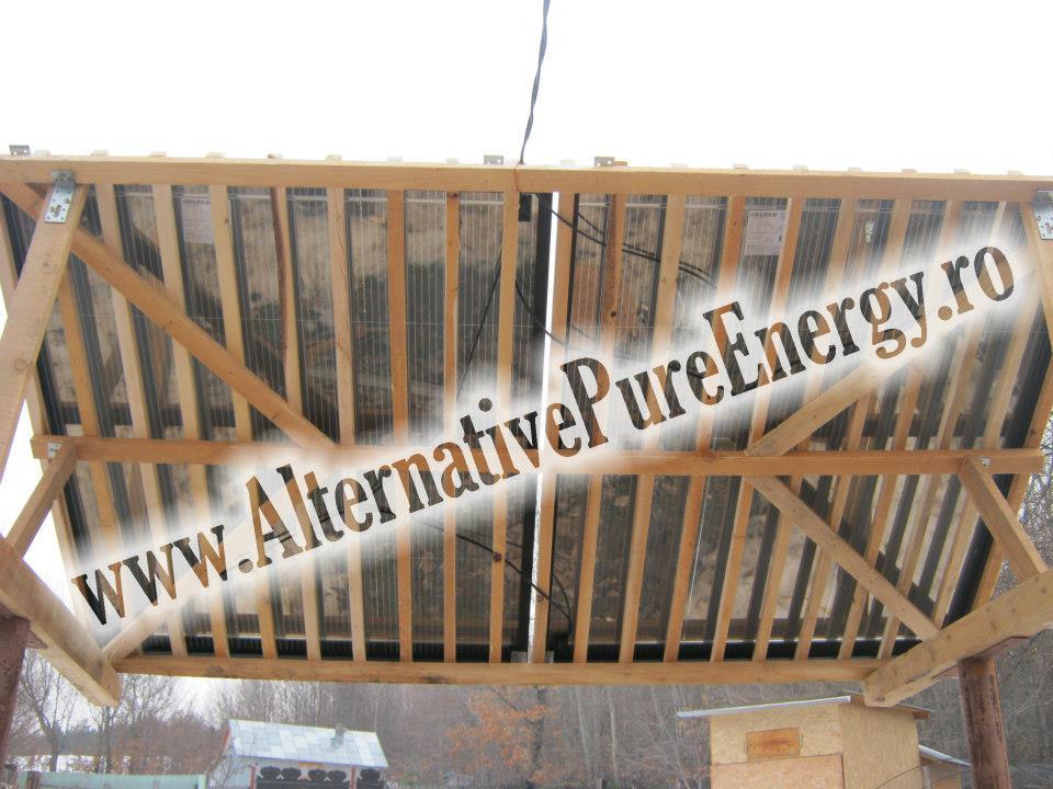 www.AlternativePureEnergy.ro Sistem Fotovoltaic  Manastire Chilie 3