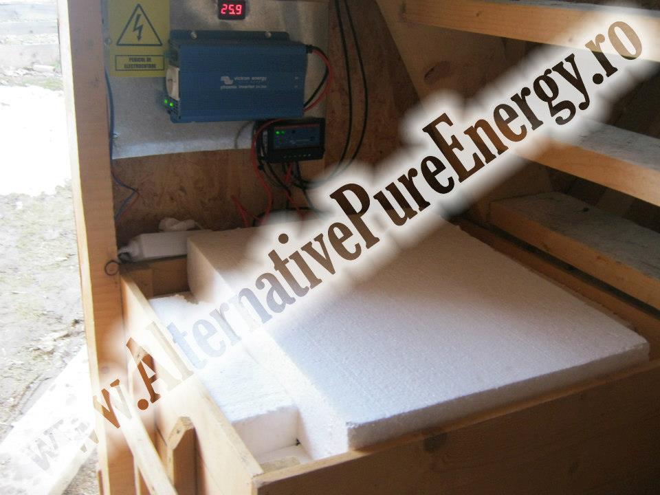 instalare Sistem fotovoltaic la Mânãstire Poduri, poza 1 din 3