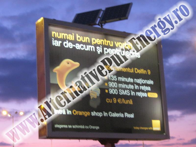 Sistem Fotovoltaic Iluminat Panou Publicitar Orange, poza 1 din 3